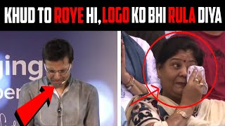 Sandeep Maheshwari Crying on the Stage (Very Emotional)