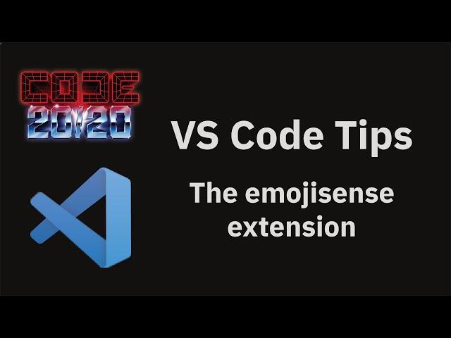 The emojisense extension