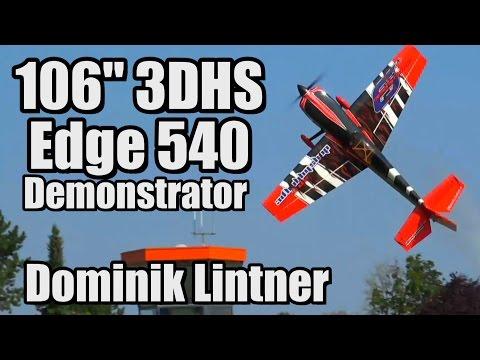 "106"" 3DHS Edge 540 Demonstrator - Dominik Lintner"