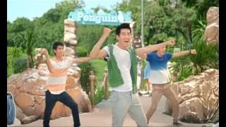 Quang Đăng nhảy với chim cánh cụt (full version) - 7up commercial