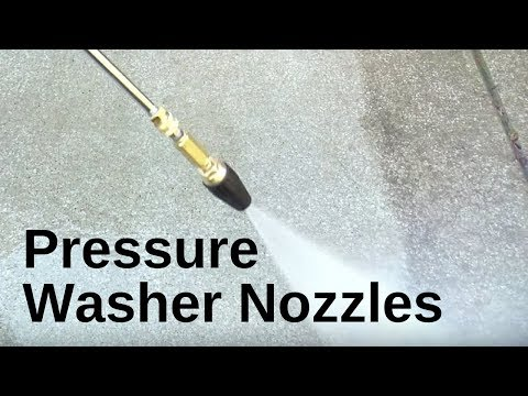 Choosing the right Nozzle for Your Water Pressure Washer Mi-T-M