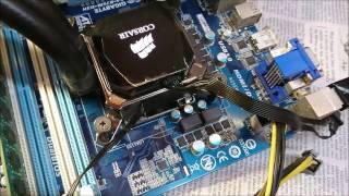 Gigabyte B75M-D3H corrupted BIOS boot/post loop fix