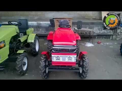 Мини Трактор (мототрактор)Forte в работе. Фрезерование под суданку .
