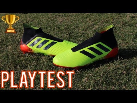 Adidas Predator 18+ Energy Mode (2018 World Cup) Review and Playtest