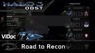 Halo 3 : ODST – Road to Recon (ViDoc VOST)