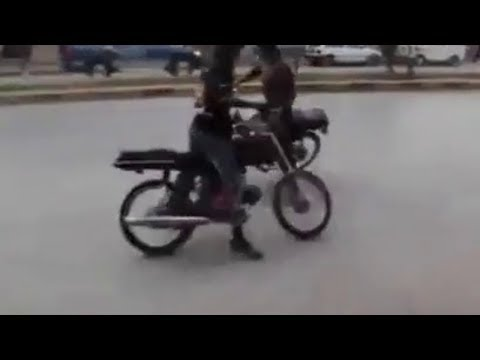 Bike Drifting Video - Pakistan Wheeling New Video 2018 || Bike Donuts Pakistan