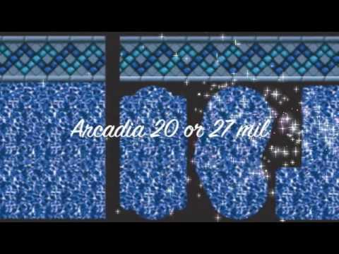 Merodynamicpools.com Liner Samples from Tara Mfg.