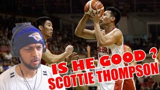 IS THIS DUDE ANY GOOD ? SCOTTIE THOMPSON 14 POINTS 9 REBOUNDS REACTION