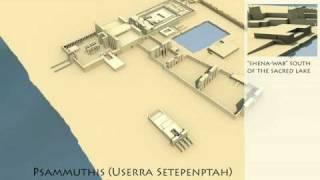 Digital Karnak - Temple Development, UCLA