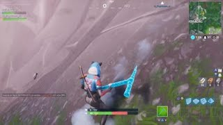 Fortnite new bug in Tyrolean you manage to go to your heaven