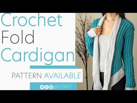 Crochet Asymmetrical Cardigan | Pattern & Tutorial DIY