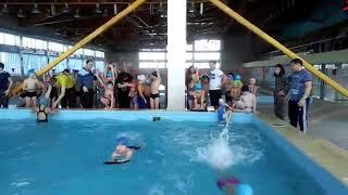 Соревнование водное поло Бурабай