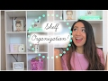 How I Organize/Decorate My Shelf!