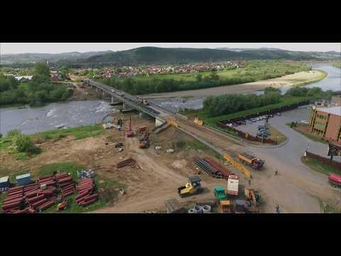 Rozbiórka mostu heleńskiego - Nowy Sącz 2018 [#1]