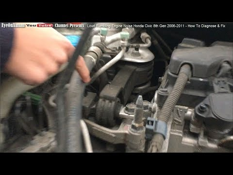 Loud Rumbling Engine Noise From Cabin Honda Civic 8th Gen 2006 2011 How To Diagnose Fix Youtube