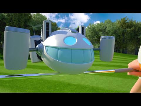 Quadrotor Robot Golf Swing Coach