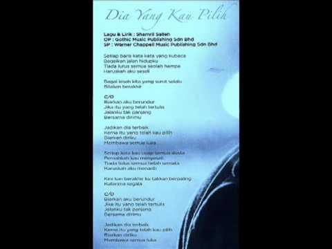 Shahir - Dia Yang Kau Pilih [Music Video]