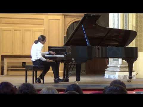 Diploma di pianoforte di Giorgio Giuffrida