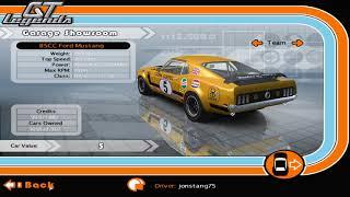 GT Legends Car Mods