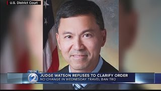 Hawaii judge rejects government