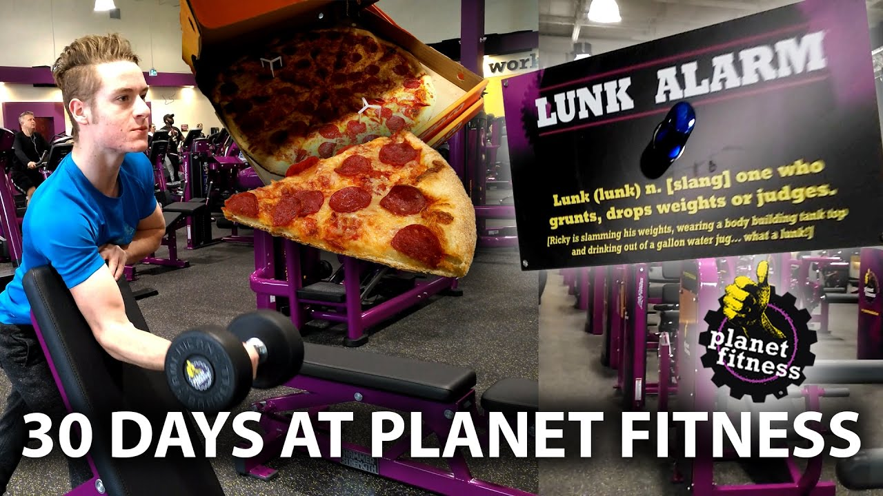 30 days at planet fitness full review workout lunk alarm free
