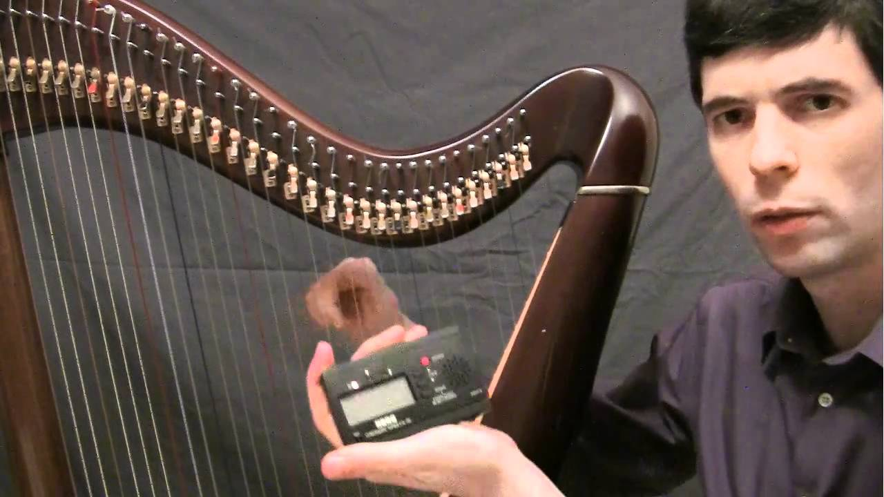 Ep5 - Learning to tune your lever harp