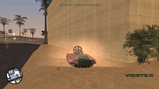 How to get a Vortex in GTA San Andreas