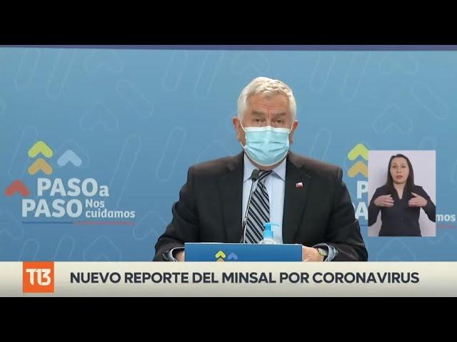 Coronavirus en Chile: reporte 22 de julio