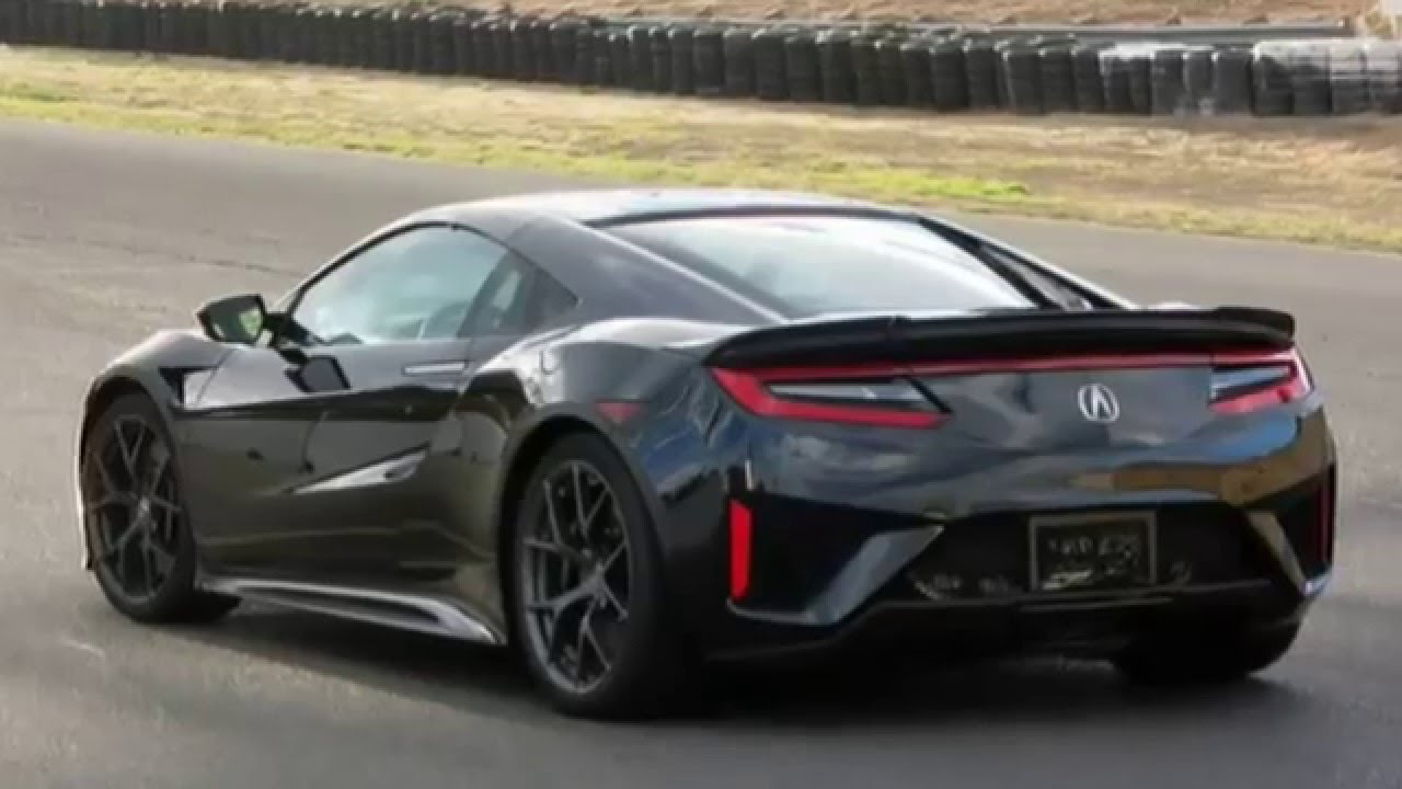 Acura NSX Car Review Specs And Prices YouTube - Acura sports car nsx price