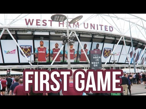 FIRST GAME AT THE OLYMPIC STADIUM VLOG (West Ham 3-0 NK Domzale)