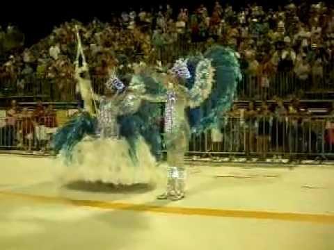 Cintia Machado e João boff Vila Isabel desfile