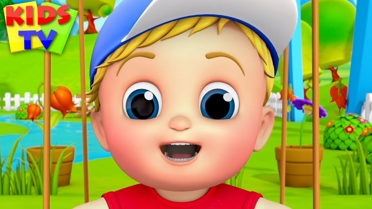 Swing Song | Junior Squad Cartoons | Rhymes for Babies & Children Songs - Kids TV