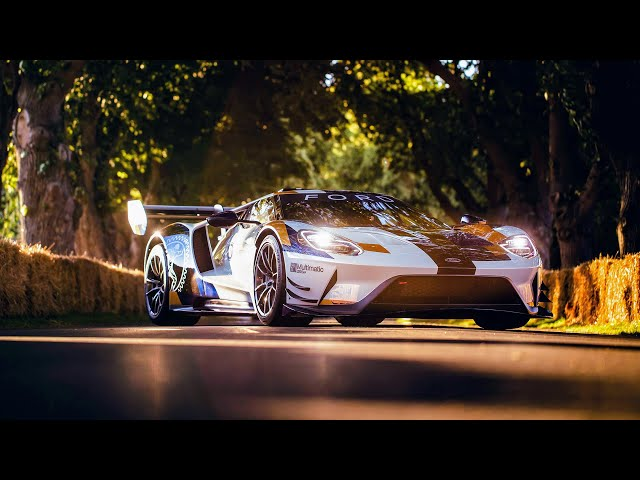 Ford GT MK II at Goodwood Festival of Speed 2019