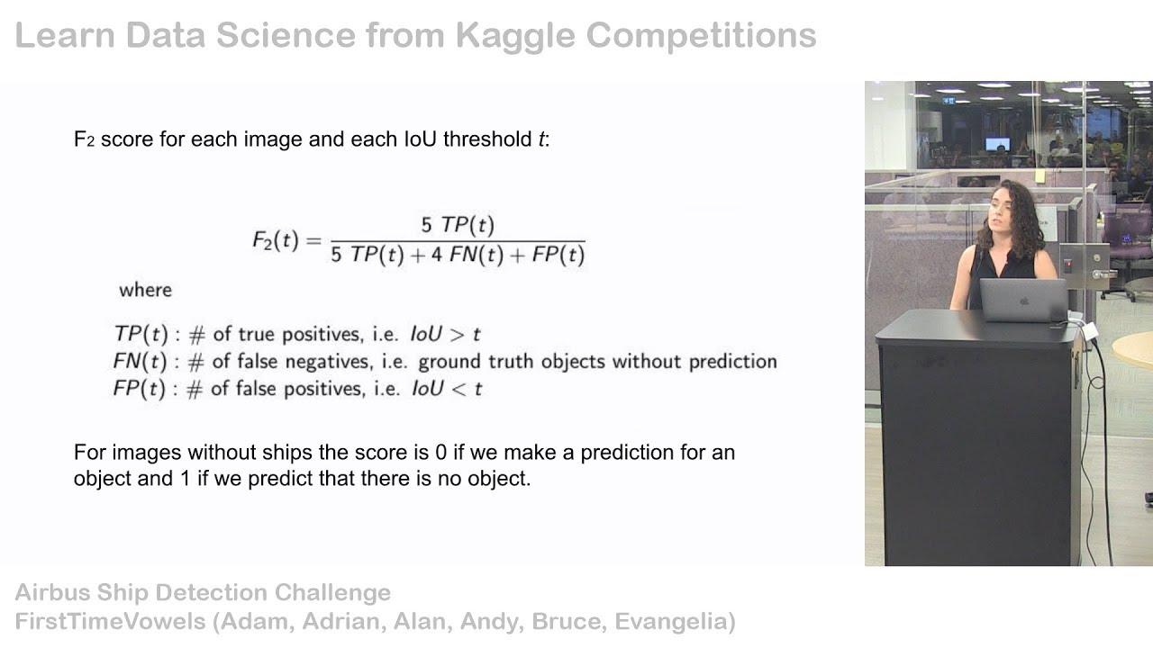 Kaggle Meetup: Ship Detection Challenge