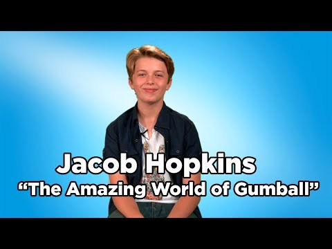 The Amazing World of Gumball Gumball Watterson Voice Actor Jacob Hopkins