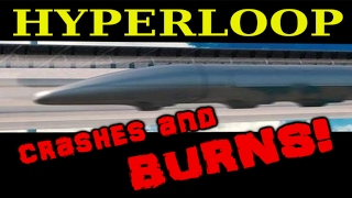 hyperloop crashes and burns