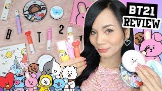 [BTS] BT21 MAKEUP REVIEW (VT Cosmetics) | ENGLISH REVIEW