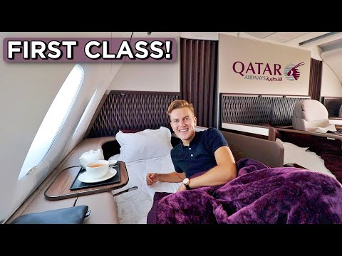 Qatar Airways A380 First Class Review - FINALLY!!!
