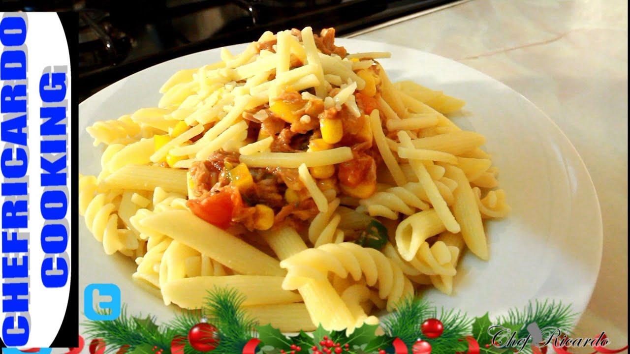 kids menu before christmas tuna pasta jamaican caribbean chef recipes by chef ricardo