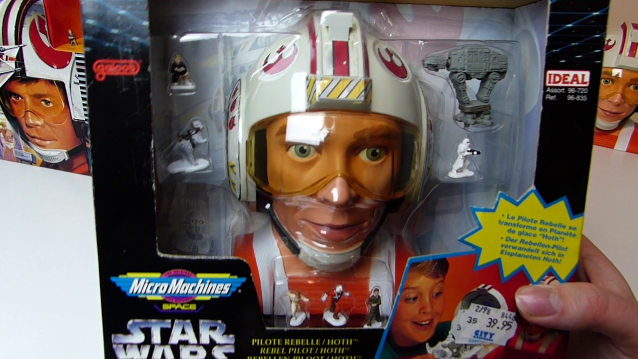 Micro Machines Star Wars Luke Skywalker V3