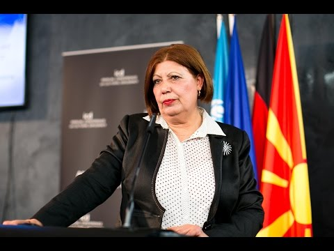 Milka Ristova (Judge of the Supreme Court of the Republic of Macedonia)