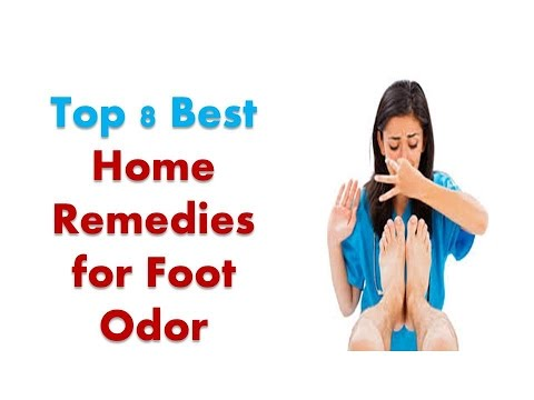 Home Remedies for Foot Odor | Top 8