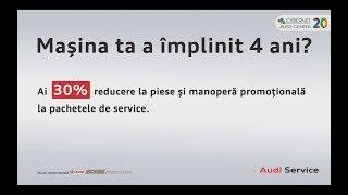 Videoclip campanie service Audi 4+