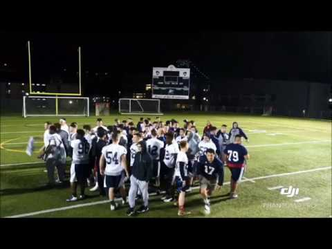 SUNY Maritime Football Spring Ball Drone Video