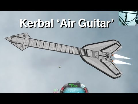 Kerbal 'Air Guitar' - 'Flying Vee'