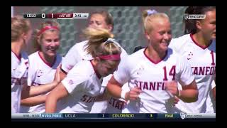 Stanford Women's Soccer vs University of Colorado - March 7, 2021