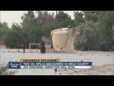 Two oil spills discovered in Weld County