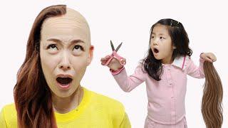 어떤 머리 스타일을 원하세요? 서은이의 가발 미용 화장…