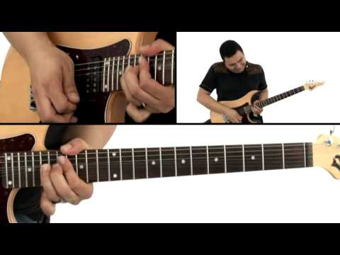 World Rock Guitar Lesson - #35 Soul of India - Tony Smotherman