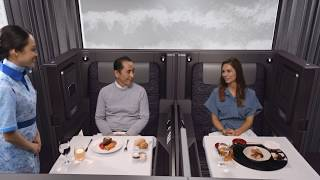 East Meets West: ANA Launches New Luxury Cabins
